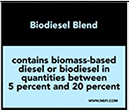 NEFI - Regulatory/Compliance/Decals BIODIESEL PUMP LABELS